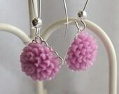 Small Chrissy Earrings-Lavender