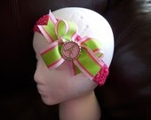 Monogrammed Boutique Bow FREE SHIPPING