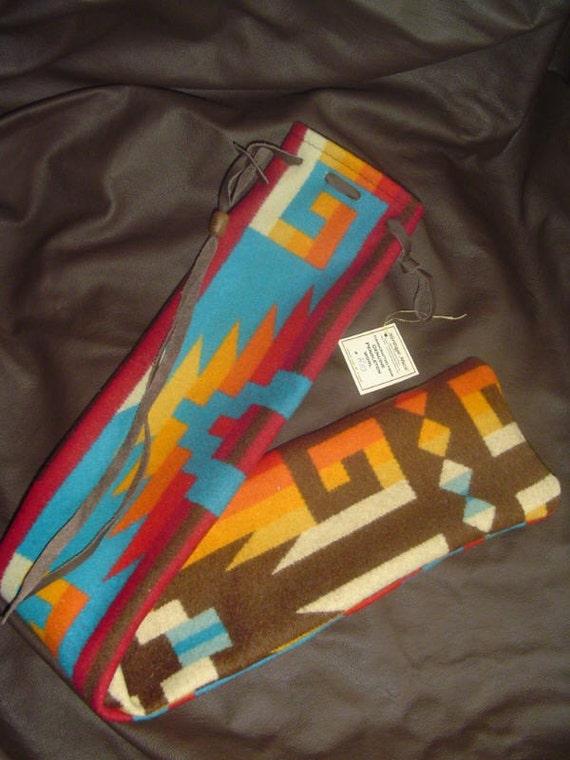 PENDLETON Native Flute Whistle Shakuhachi Drumstick Bag - Rio Pattern