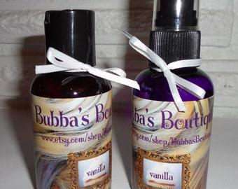 Vanilla Cupcake Wig Shampoo and  Wig Fragrance