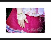 Sugar Hiccups Boutique Girls Victorian Lace Adjustable Wrist Cuffs Crochet Pattern