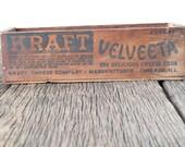 Vintage Kraft Veveeta Box