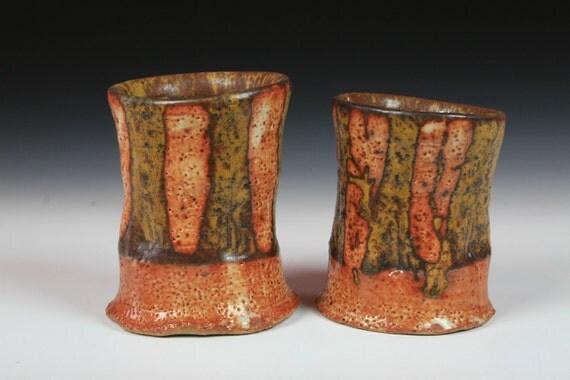 "pair of ""Autumn blaze"" cups"