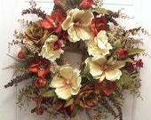 Price Reduced Magnolia Manor Natural Elegance Wreath