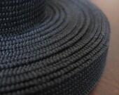 1/2 inch Knit Elastic (Black) 5 yards