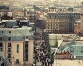 Paris Rooftops Photograph 13x18cm