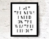 8x10 Song Quote Print Wall Office Art Poster Black white typography Dudes Unisex Gift Home Decor. Simon And Garfunkel