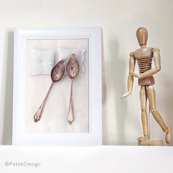 Art Print Wedding Gift : Wedding Gift / Spooning Print / Fine Art by petekdesign on Etsy