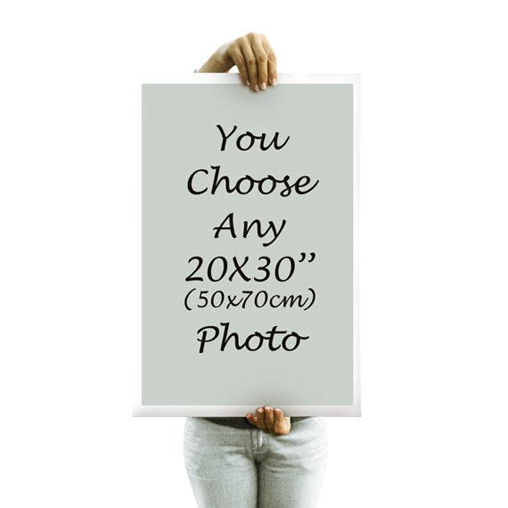you choose any photo 20x30 50x70 cm big poster fine by petekdesign. Black Bedroom Furniture Sets. Home Design Ideas