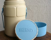 1980s plastic Thermos brand cooler