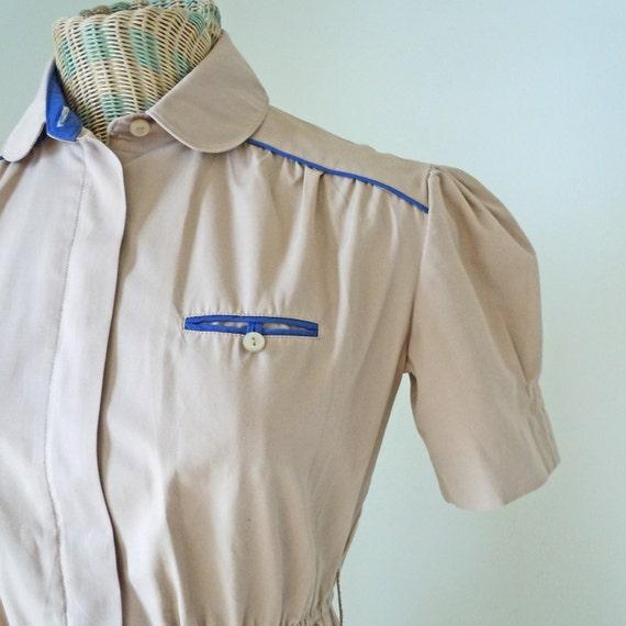 Diner Uniform Costume Vintage Diner Waitress Uniform