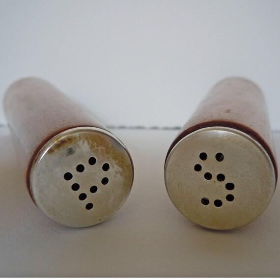 Mid Century Danish Modern Wooden salt and pepper shakers