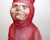 The Littlest Demon - Original Illustration
