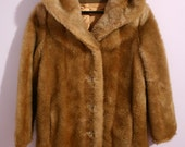 Vintage Faux-Fur Coat Size M/L - Reserved for Ashley