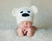 Download PDF crochet pattern 006 - Teddy-bear hat - Multiple sizes from newborn through age 4
