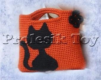 Download PDF pattern - halloween bag