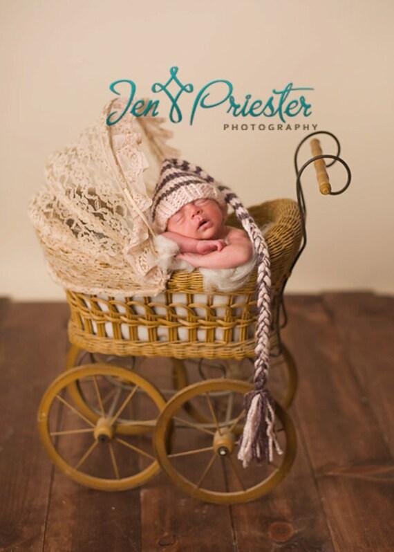 Download PDF knitting pattern k-05 - Knit Newborn Elf hat