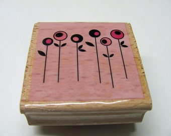 Flower Rubber Stamp - New