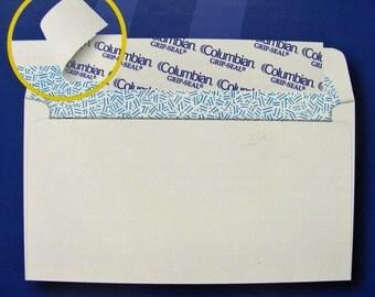 50 3 5/8 x 6 1/2 Grip-Seal Security White Envelopes