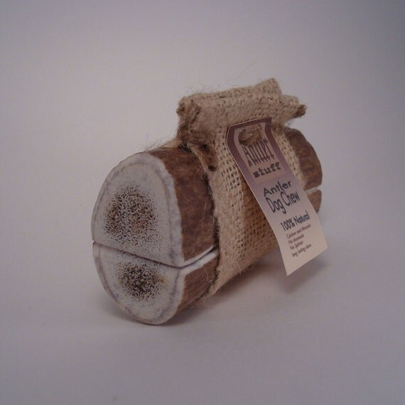 Naturally Shed Elk Antler Dog Chew