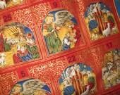 Nativity Advent Calendar, Religious Christmas, Jesus, Mary and Joesph Christmas Story, Birth of Christ, Christmas Decoration