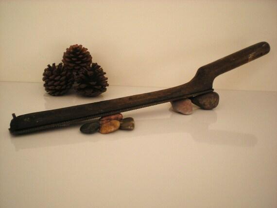 Vintage Wooden Handle Rasp or File