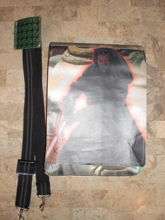 Star Wars Episode One movie messenger bag Unique handmade messenger bag using recycled movie materials From TheFanFavorites.com