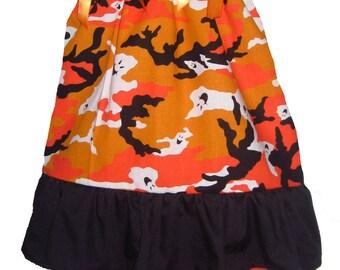 Pillowcase Dress & Pants Set Camo Camouflage Halloween Boutique 12/18M 24M/2T 3T/4T 5/6 Pageant