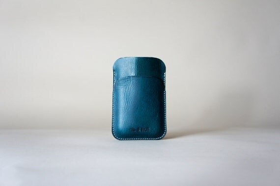 Bridle Card Case - iPhone Blackberry Galaxy Smartphone - Green