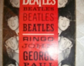 Vintage 1964 Beatles Wallet Photos by Dell