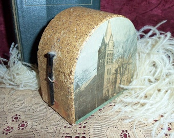 Antique Rustic Heavy Display Paper Weight