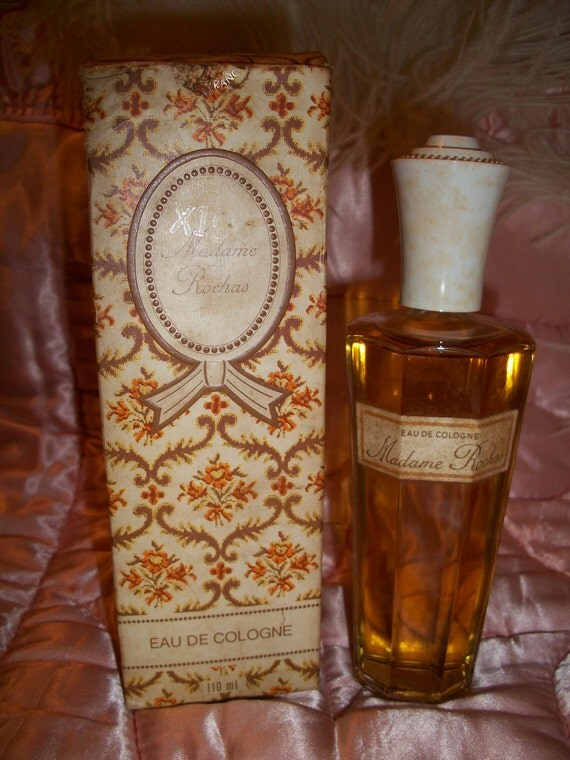 Vintage 1950s French Madame Rochas Perfume