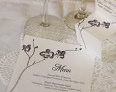 Simplistic Orchid Wedding Accessory Suite