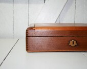 On Sale...Cool Old Wooden Box Dove Tailed