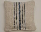 Vintage Grain Sack Lavender Sachet