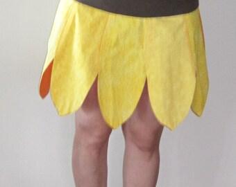 Sunflower Skirt - Custom, reversible