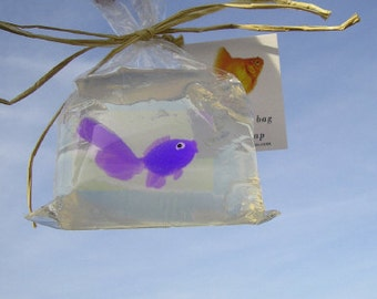 Fish in a Bag Novelty Soap Fun and Games and Prizes