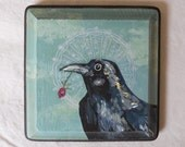 saint crow, original painting