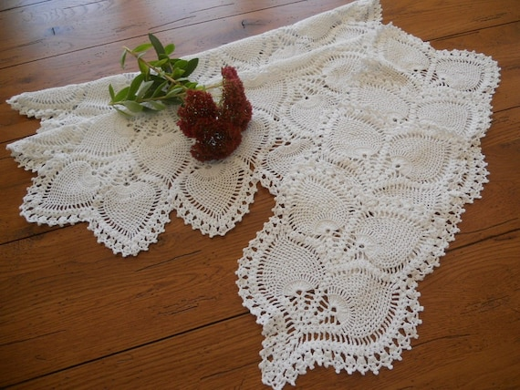 2 Matching Sets of Vintage Arm Chair or Dresser Doilies