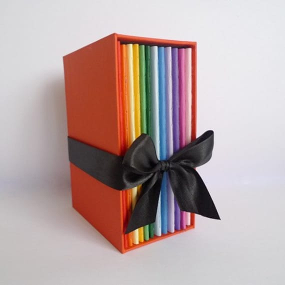 monthly planner - 12 rainbow pack