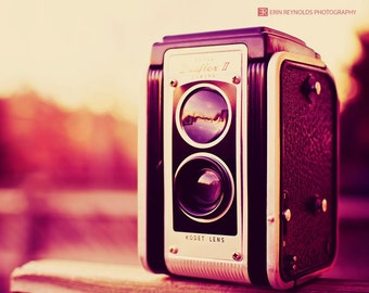 Vintage Camera Love - Fine Art Photography Original Print