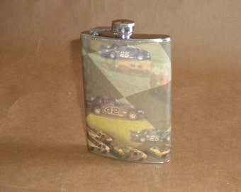 Sale Flask Race Car Lovers Stainless Steel Guy Gift Flask
