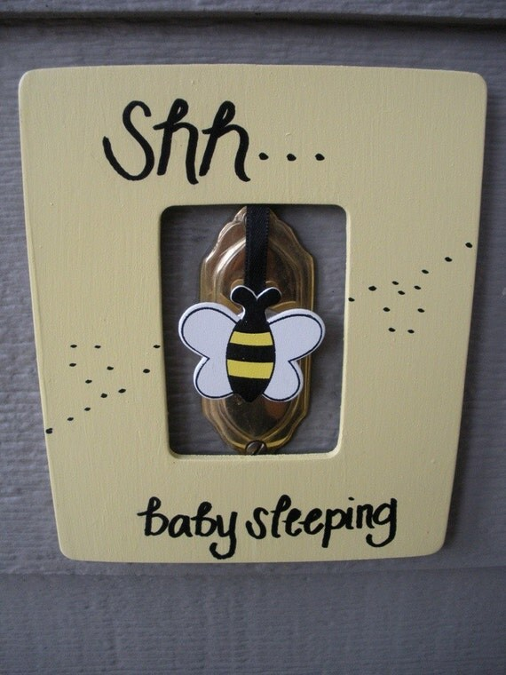 Knock Nanny Doorbell Cover-Knock Nanny Doorbell Cover When you have a napping infant, you'll often do anything to keep them asleep. This can be a huge challenge, however Knock Nanny eliminates noisy visitors from the equation. Find this Pin and more on Home Furnishings by Angela Mae. Let your baby sleep soundly with the Knock Nanny.