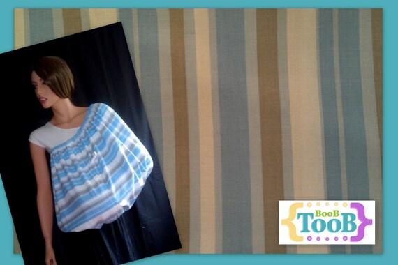 Blue white and grey stripes BooB TooB