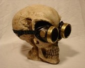 Steampunk Welding Goggles - the basics in gold