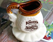 Knotts Berry Farm Miniature Syrup Pitcher Vintage