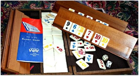 Vintage Rummy Game