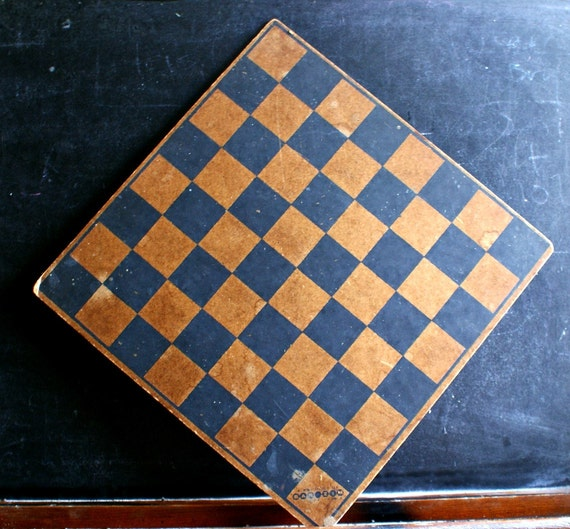 Vintage Bar Zim Game Board Wood