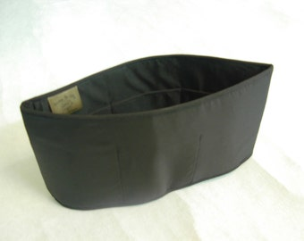 Purse To Go(R)Purse organizer insert transfer liner-Black color extra jumbo size (18 L x 9 H x 6 W)-Enclosed bottom-Change purses in seconds