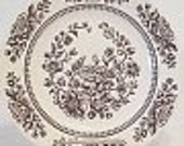 Three Royal Sussex Cavalier Ironstone Dinner Plates